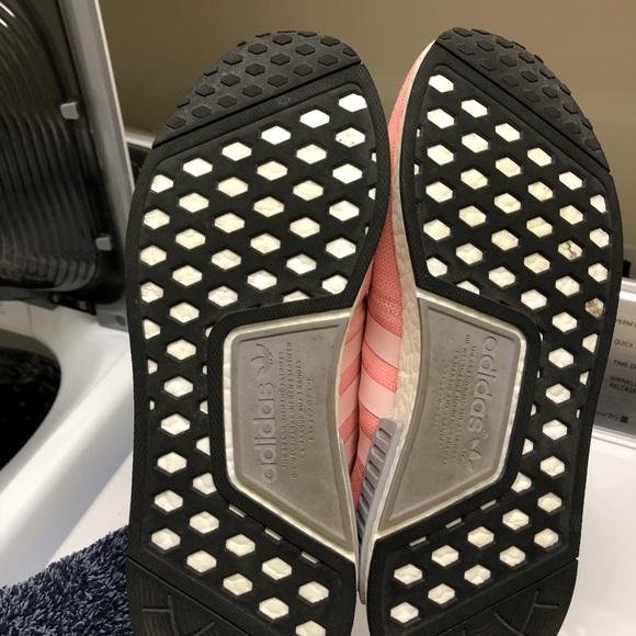 Adidas-nmd_r1 Rosa Zapatos De Mujer-vapor 5weSnPl